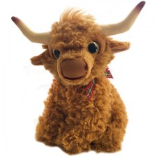 "6.5"" Highland Cow Sitting"