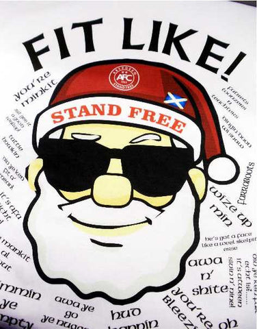 FIT LIKE Stand Free Santa T-Shirt