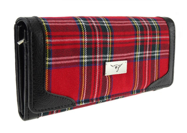 Tartan Long Purse