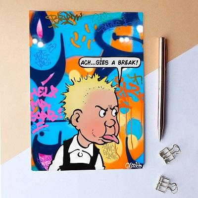 Cheeky Wullie Notebook