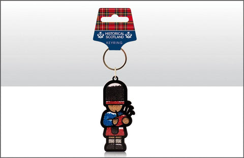 Historical Scotland Piper Keyring