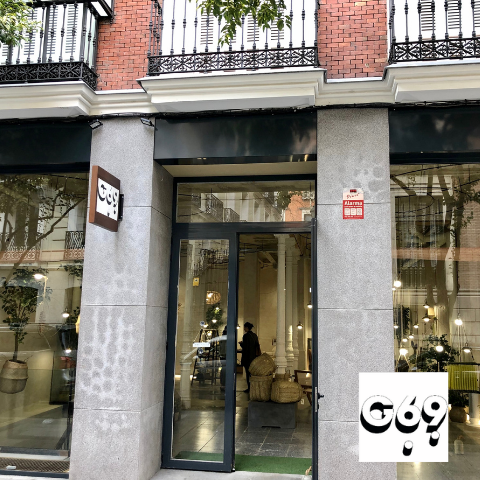 ACE sustainable bags at Concept Store G69 Madrid