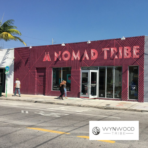 ACE sustainable bags at Wynwood Tribe store Miami