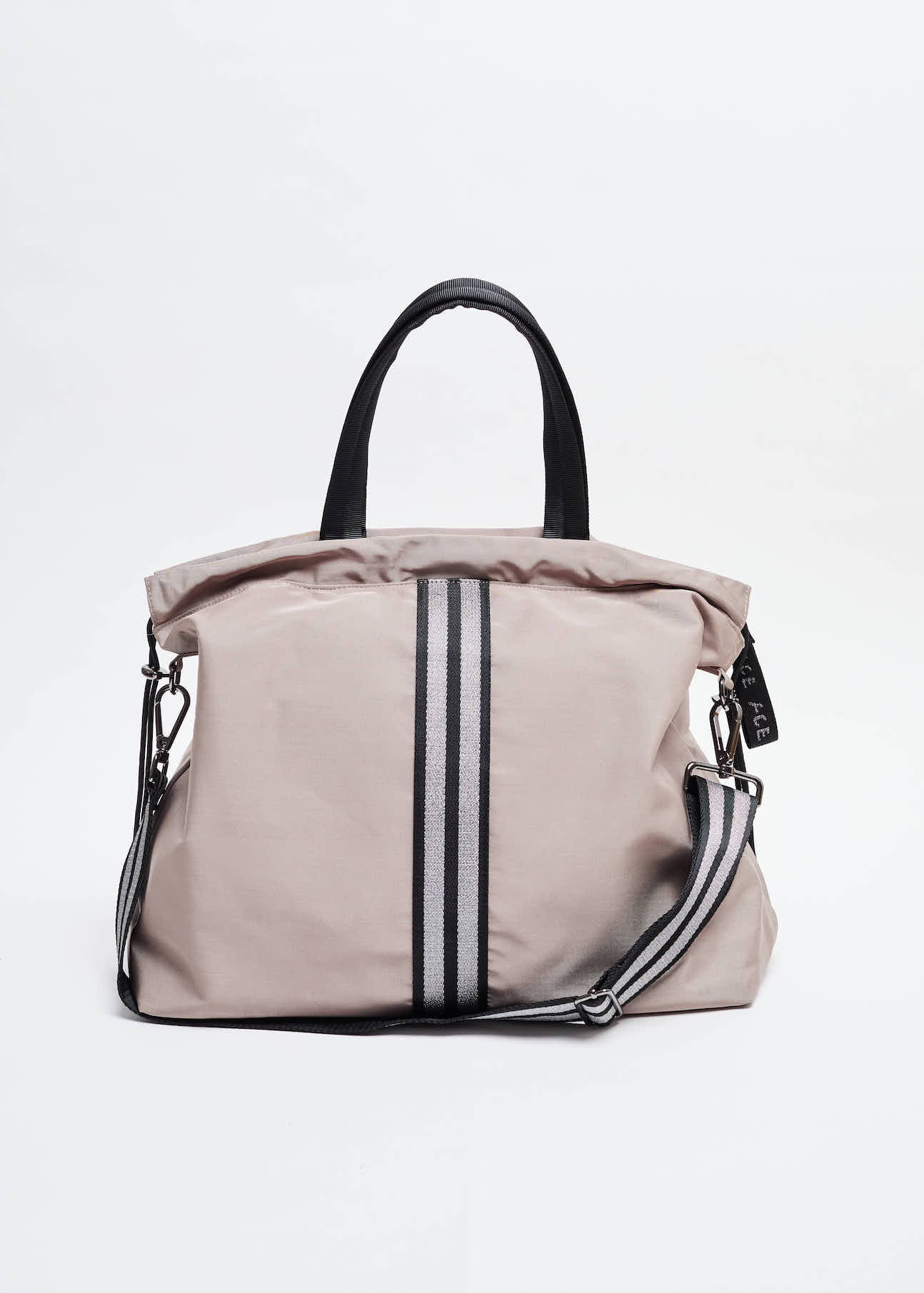 ACE Taupe All Day Tote Bag for gym work travel