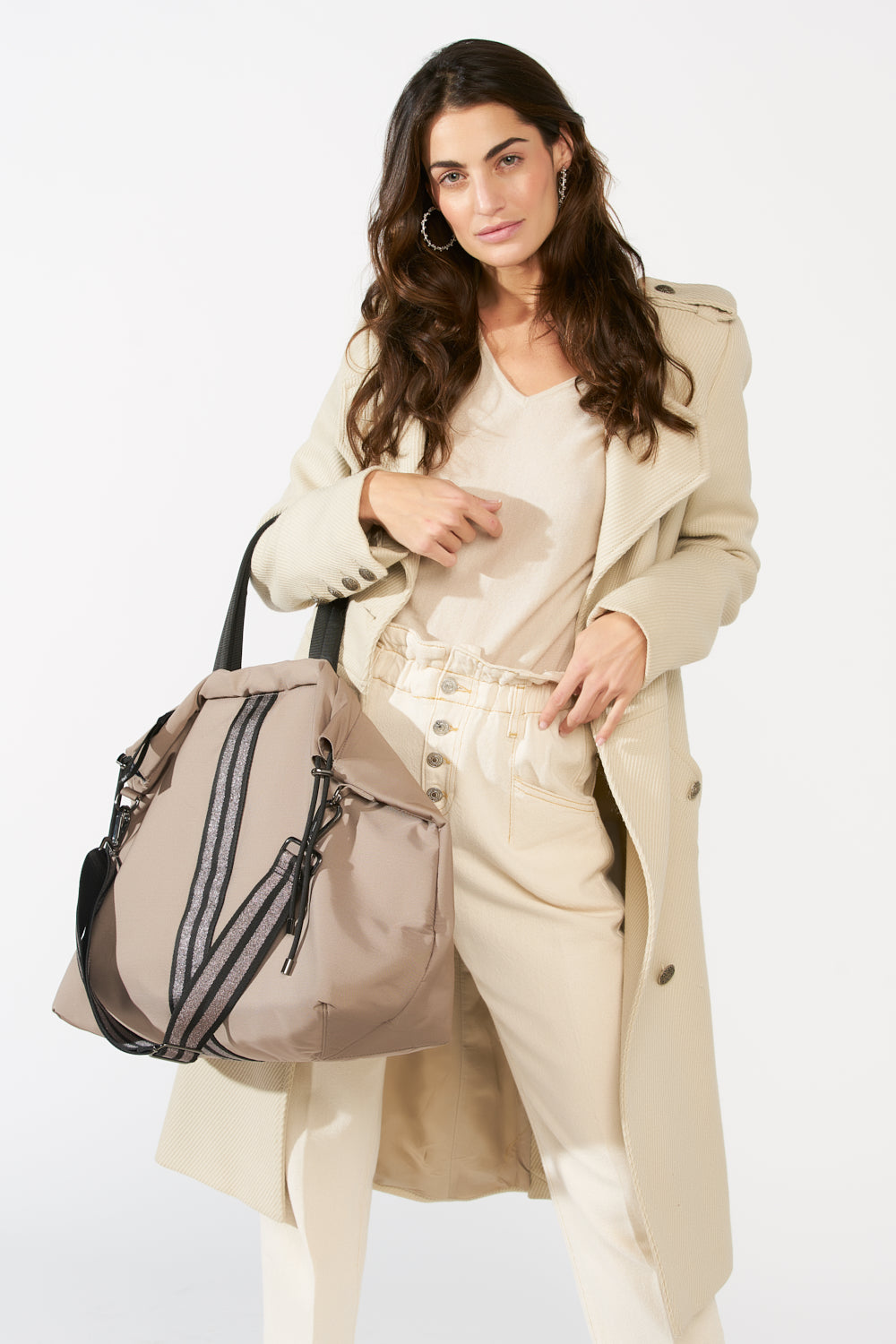 ACE Gym bag Taupe