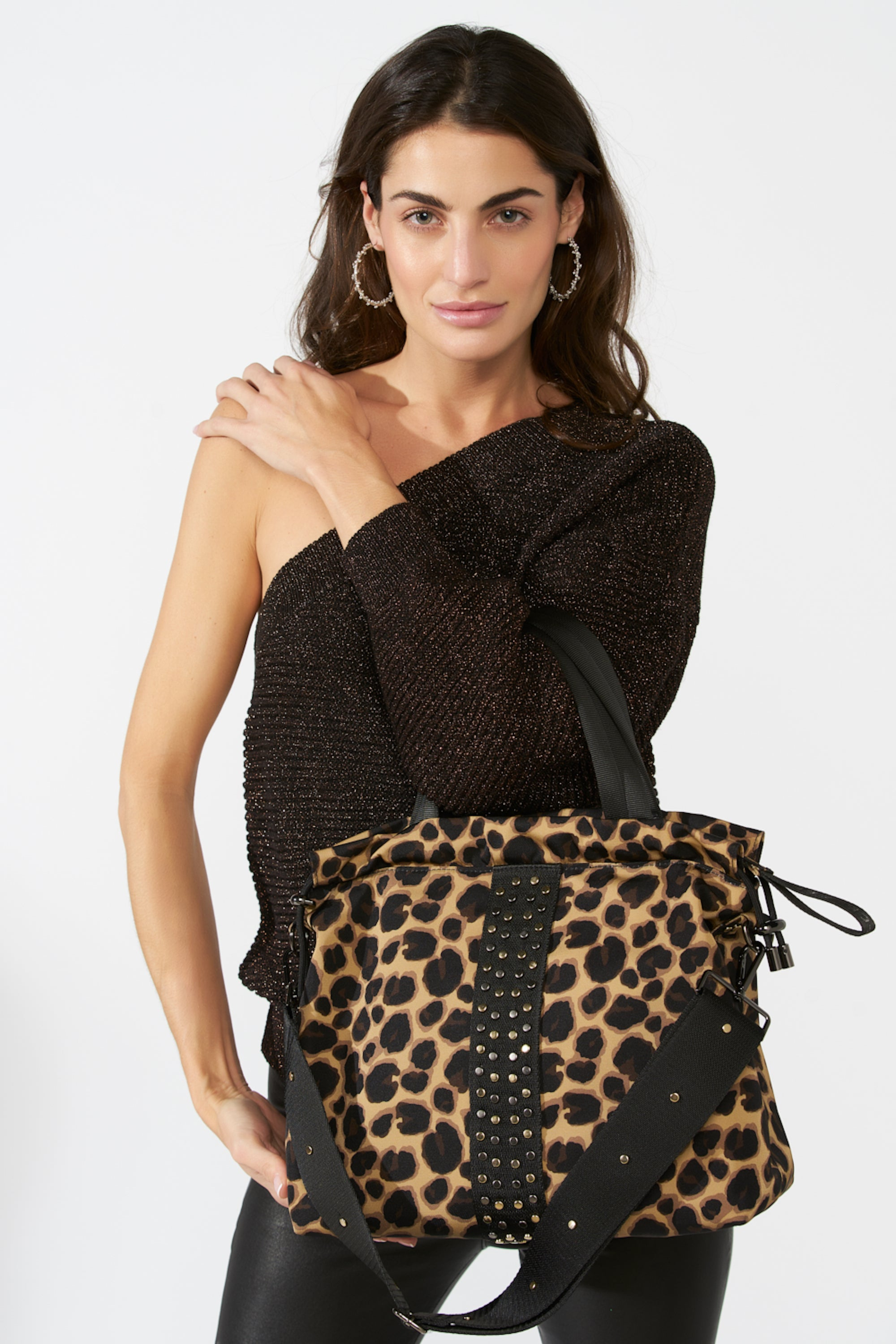ACE Urban Leopard Tote Bag