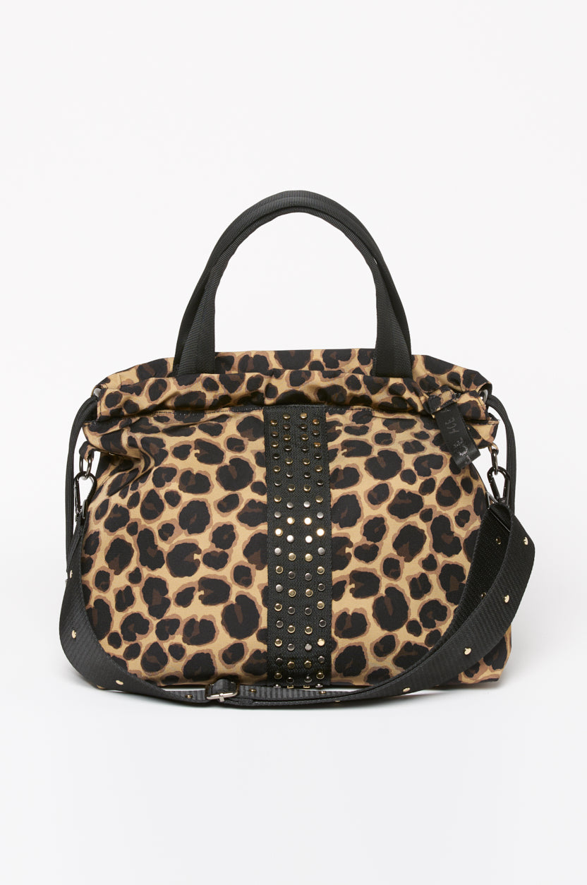 ACE Urban Tote Bag Leopardo front