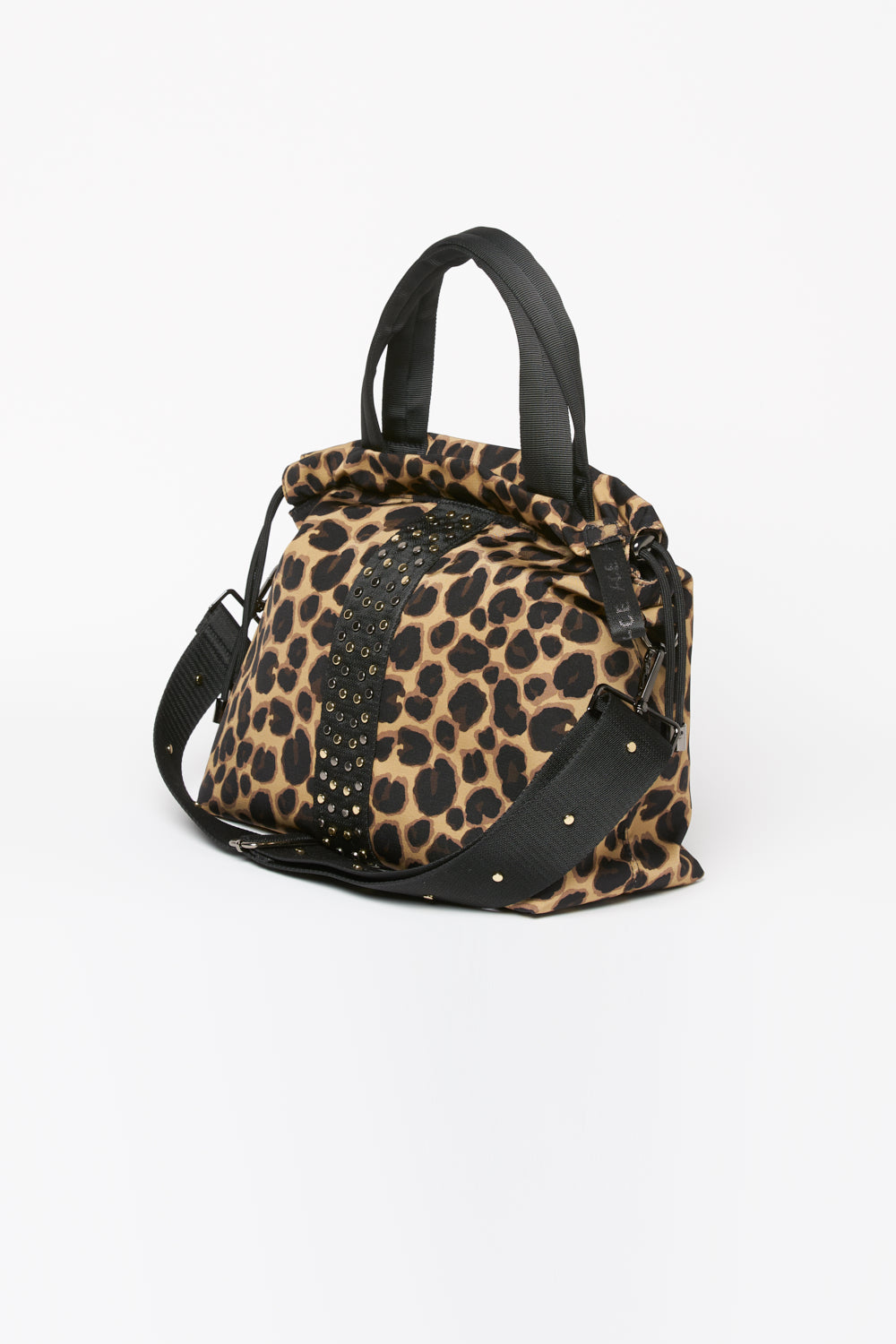 ACE Urban Tote Bag Leopard side view
