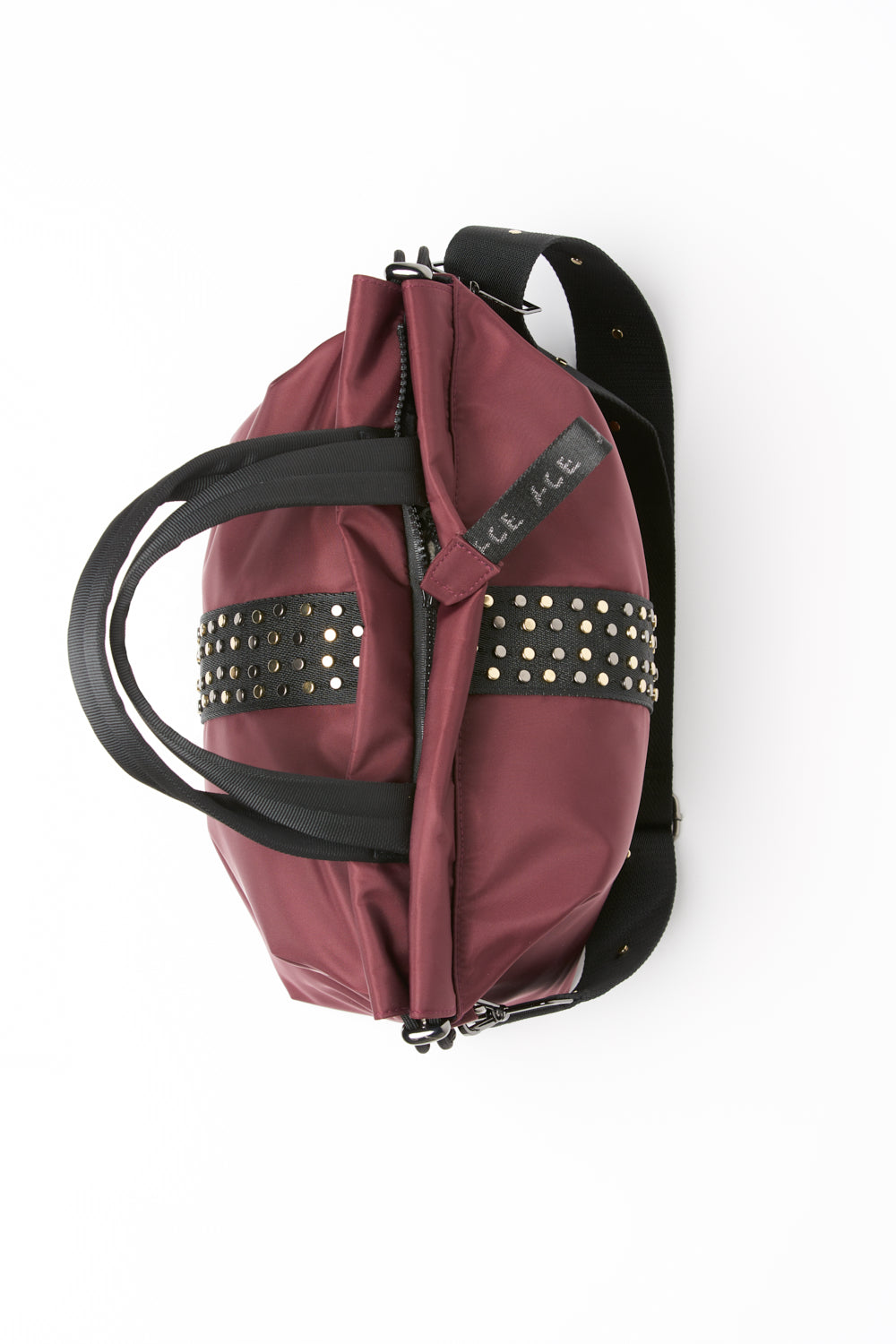 ACE Urban Tote Bag Burgundy bottom view