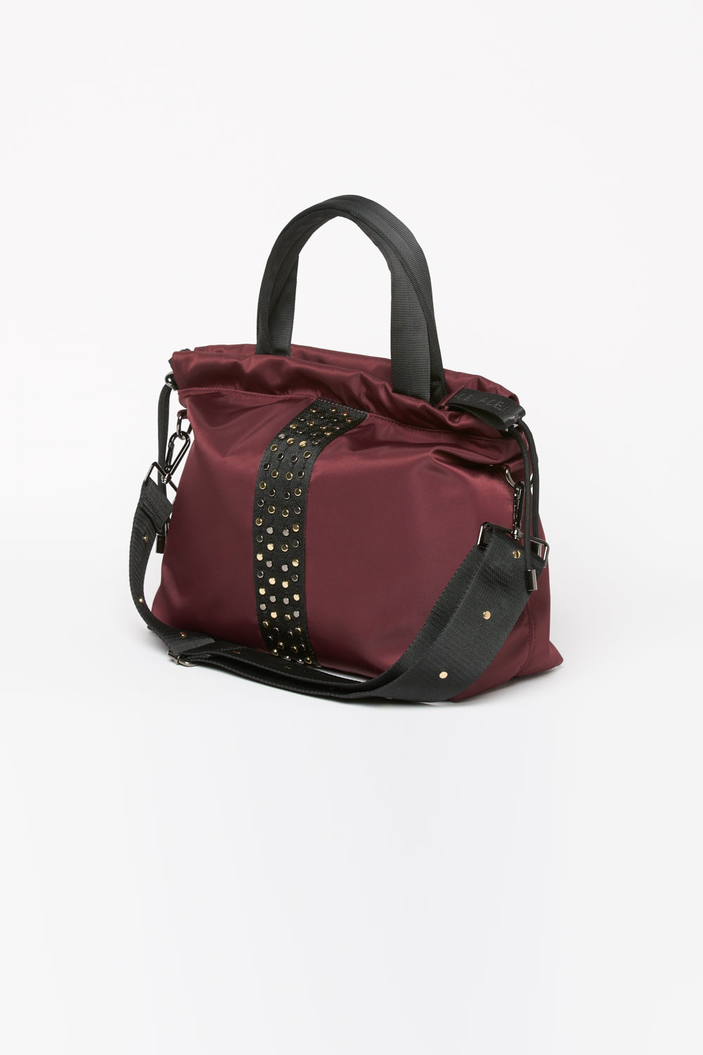ACE Urban Tote Bag Burgundy side viw