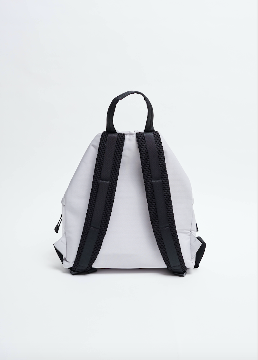 Light Grey sustainable Econyl Backpack
