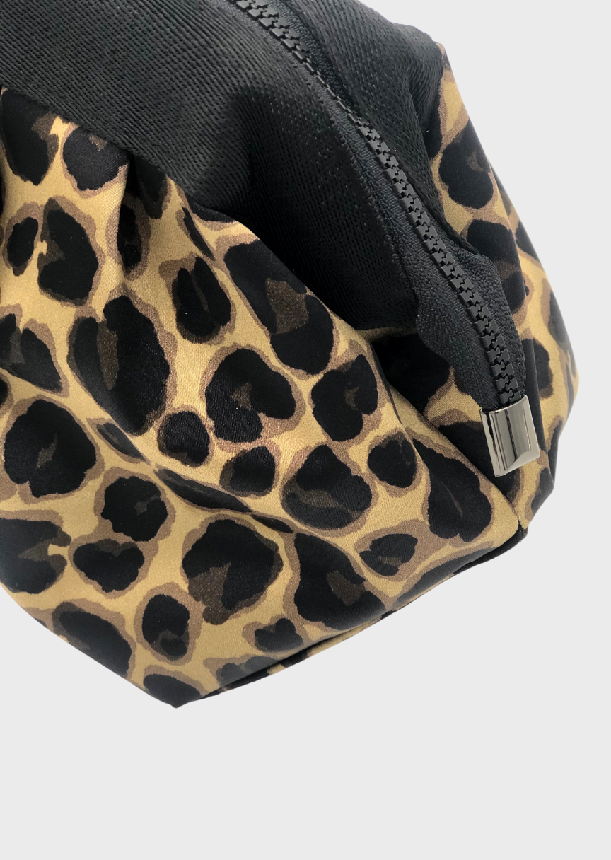 ACE Leopard Cosmetic Bag made in ECONYL®