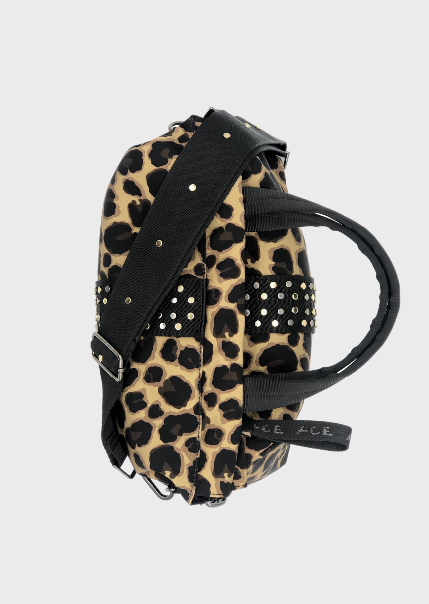 ACE Urban Tote Bag Leopard designer handbag in Econyl