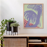 Daniel Gumbert hairdo or palms Kunst100 Interior
