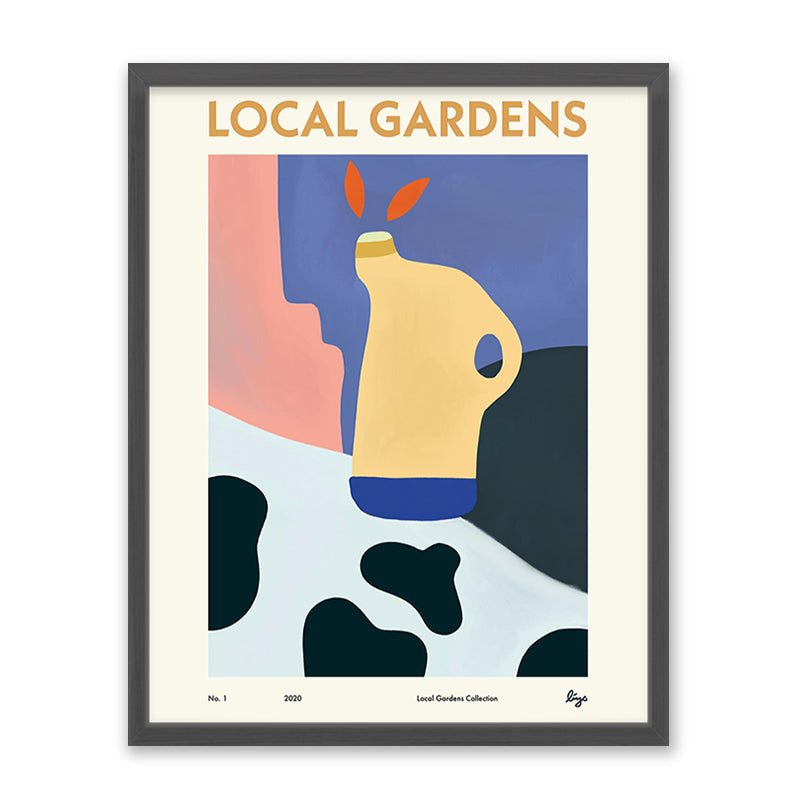 Bings Local Gardens No. 1 Kunst100 Grau