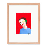 Xenia Ruiz Simple Face III Kunst100 Fichte
