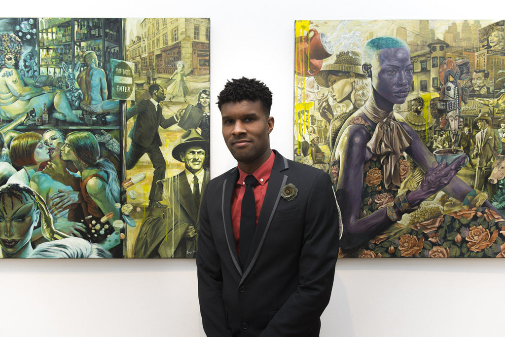 Opening Night: Different Rules - a solo show by Serge Gay Jr.