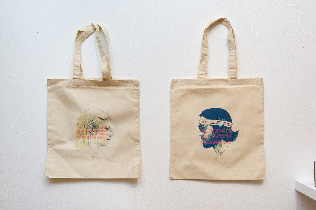 Margot and Ritchie Tote Bags