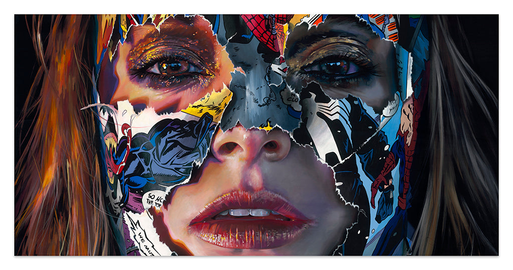 Painting by Sandra Chevrier