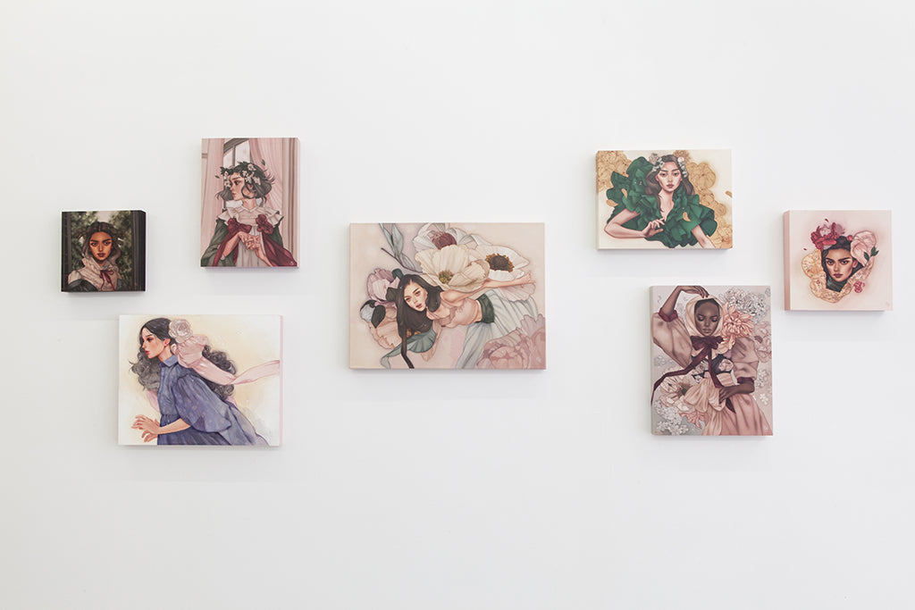 Kelsey Beckett Anemoia installation view at Spoke Art NYC