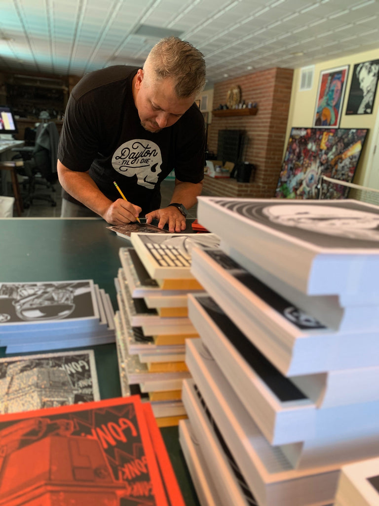 Joshua Budich signing Mind Tricks Series One