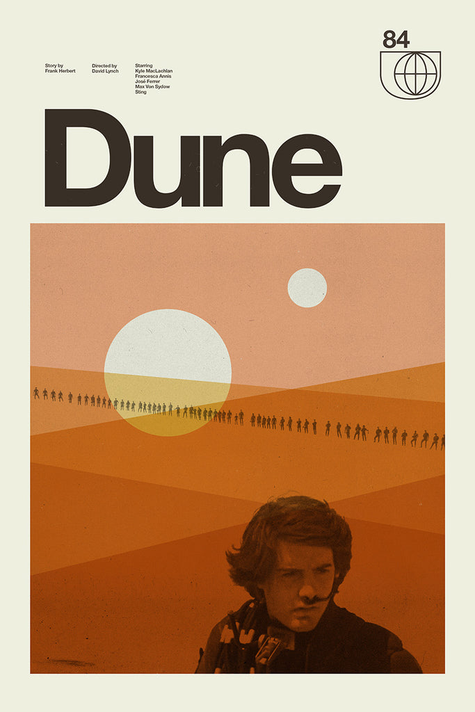 Concepcion Studios Dune print Spoke Art comic con