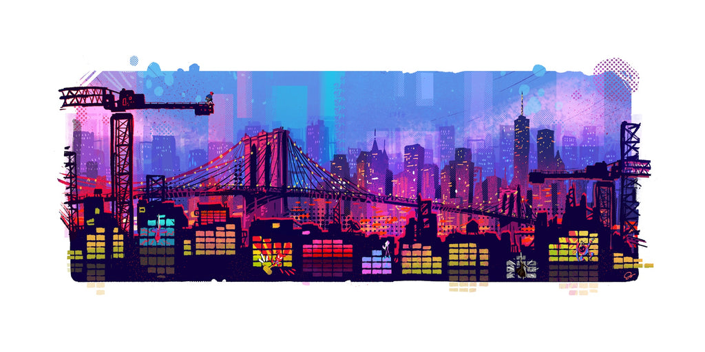 Josey Tsao Into The Spiderverse Nightly Remix limited edition print