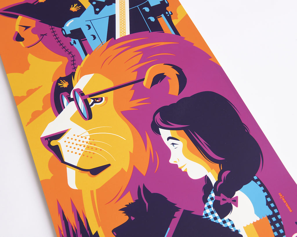 Wizard of Oz illustration by Tom Whalen