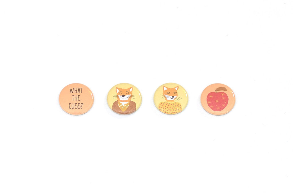 Fantastic Mr. Fox buttons