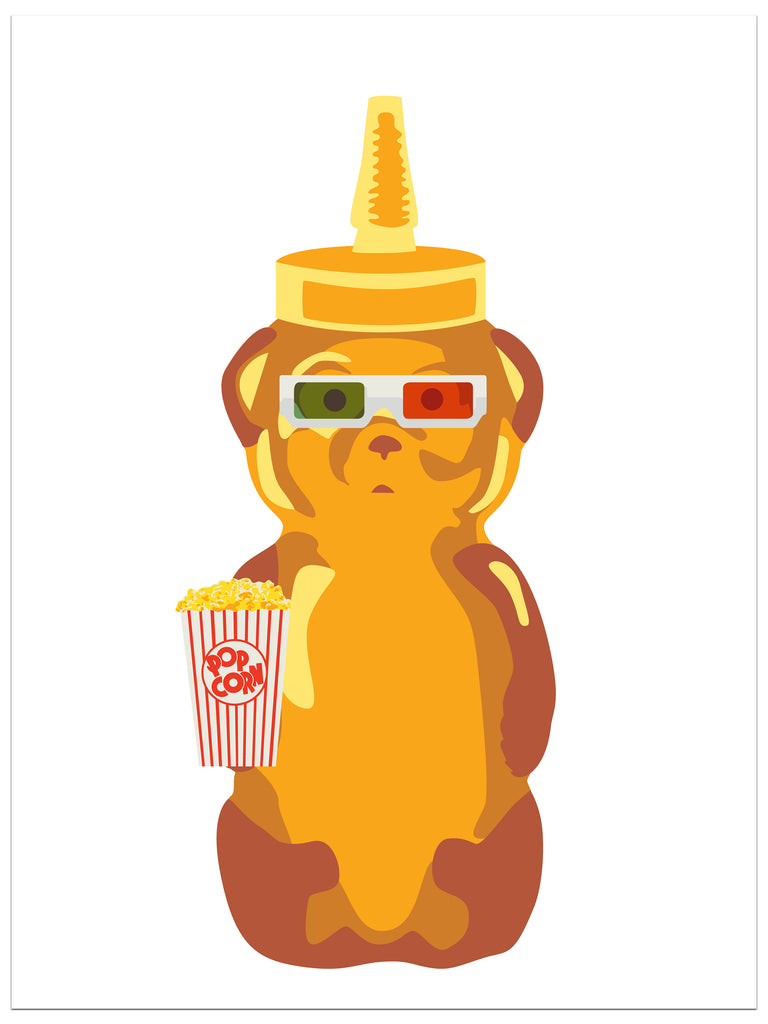 fnnch Movie Bear timed limited edition print release Roxie Theater charity