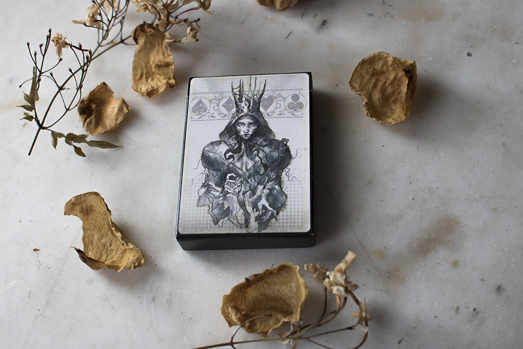 "Special Edition ""Four Dames"" Playing Card Deck - Spoke Art"