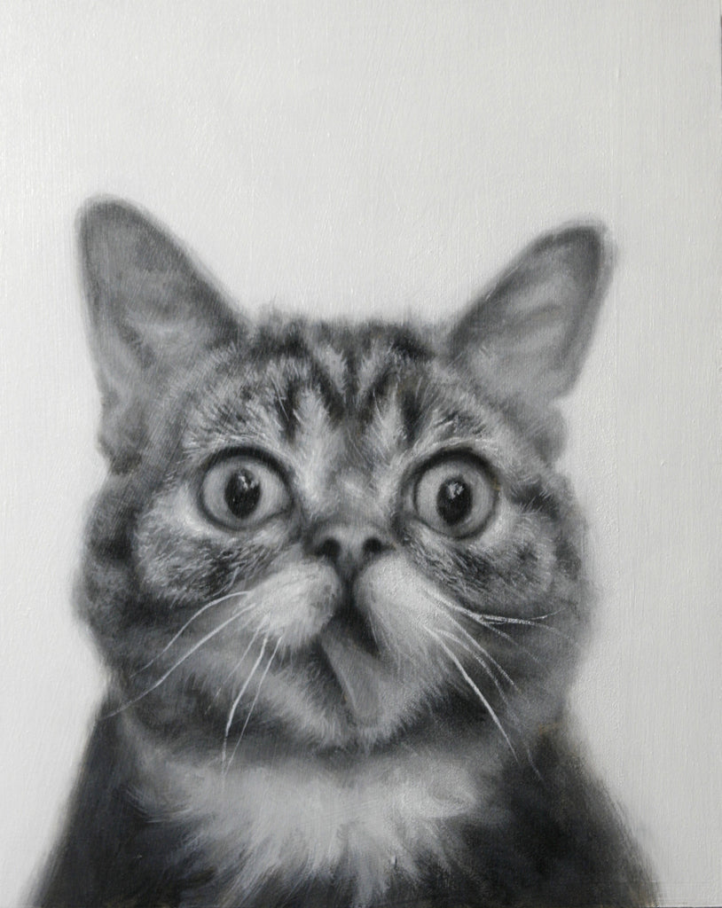 "John Wentz -"" Lil Bub"" - Spoke Art"
