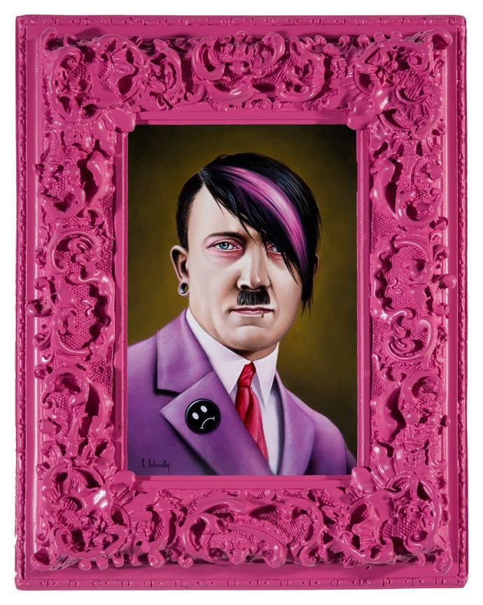 """Emo Hitler"" - Spoke Art"