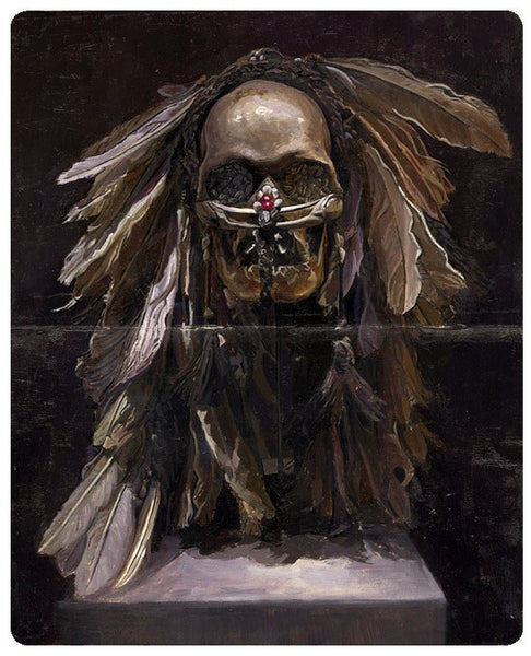 "Greg Gandy - ""Study of Ancestor Skull"""