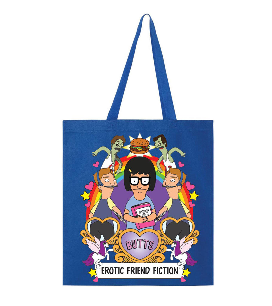 Erotic Friend Fiction Tote Bag - Spoke Art