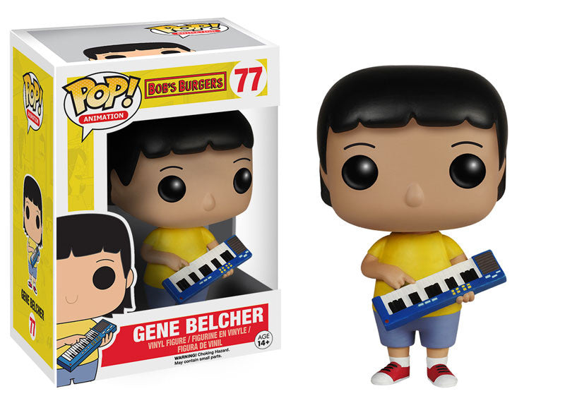 "Funko POP Animation Bob's Burgers ""Gene"" Action Figure - Spoke Art"