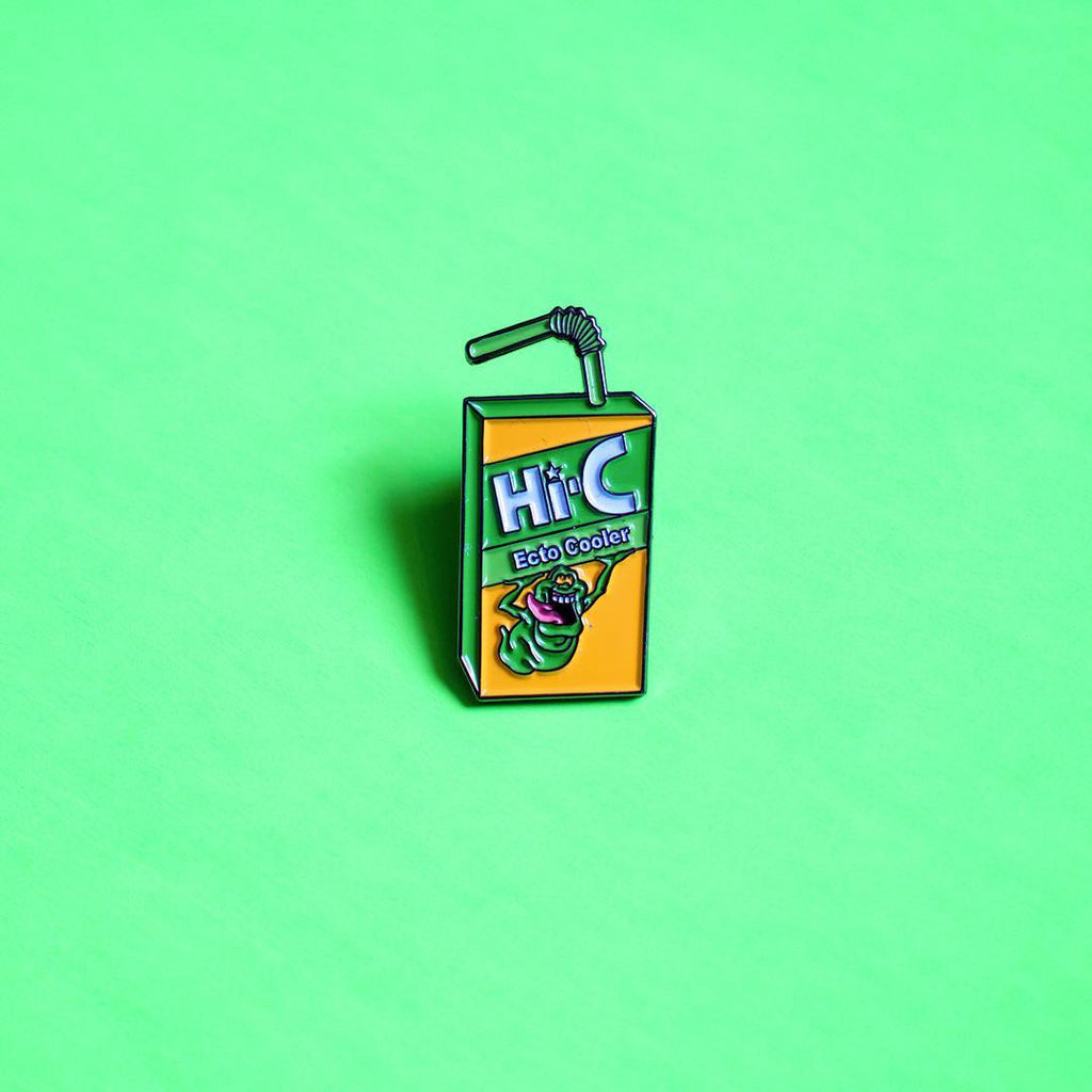 Juice Box Enamel Pin
