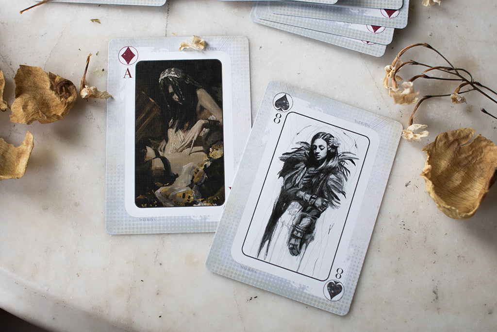 "Special Edition ""Four Dames"" Playing Card Deck"