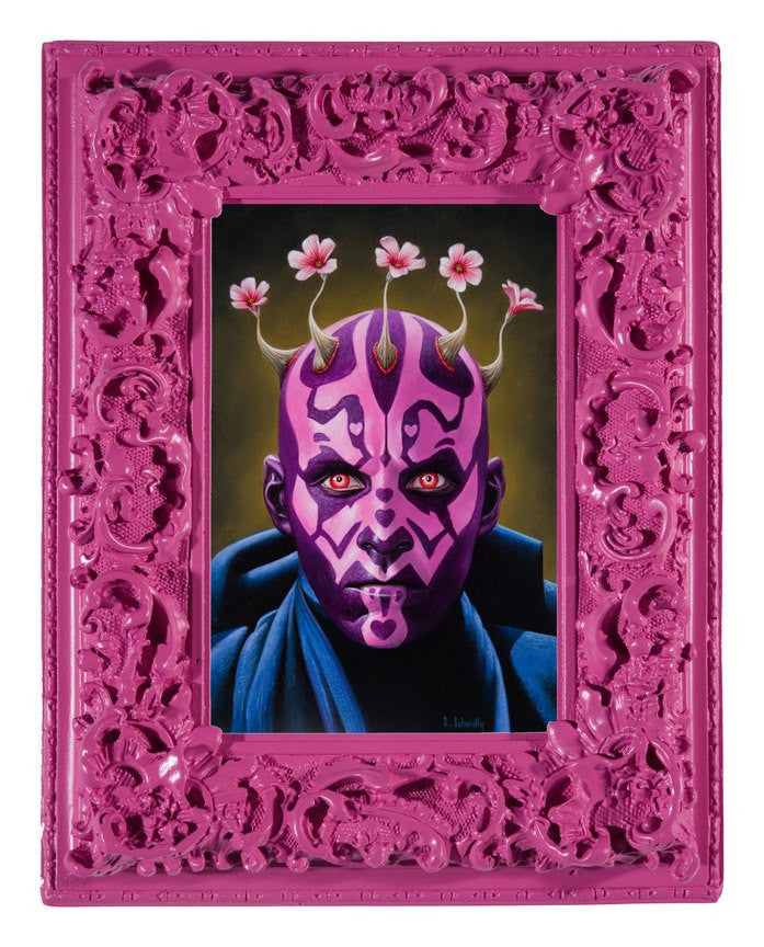 """Darth Mauve"" - Spoke Art"