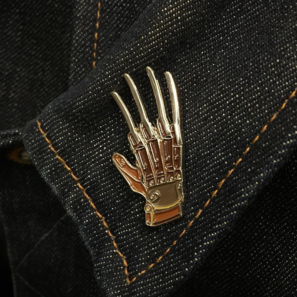Freddy Glove Enamel Pin