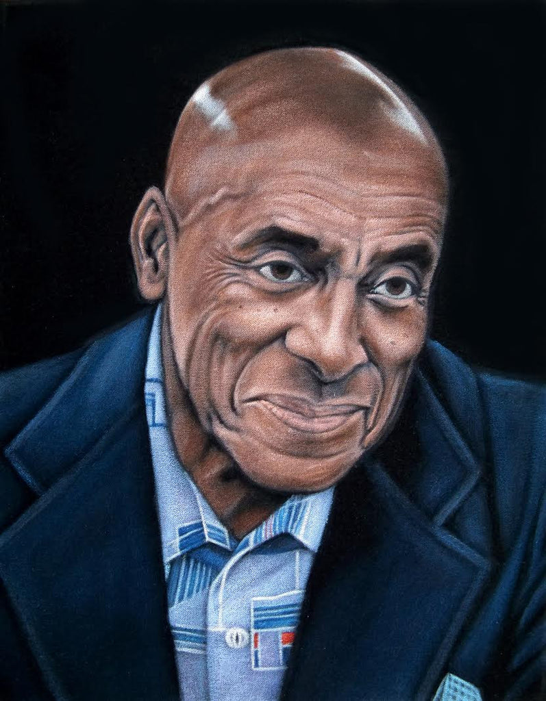 "Bruce White - ""Dick Hallorann"" - Spoke Art"