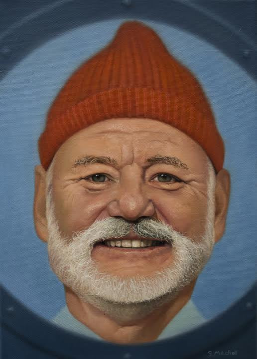 "Scott Mitchell - ""Steve Zissou"" - Spoke Art"