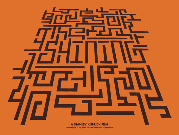 "Brandon Schaefer: ""The Shining"" (Roxie Theater variant)"