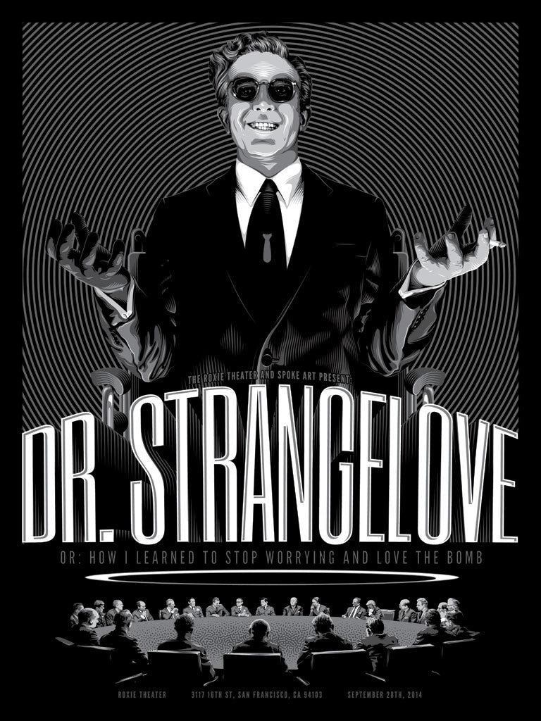 "Tracie Ching - ""Dr. Strangelove"" - Spoke Art"