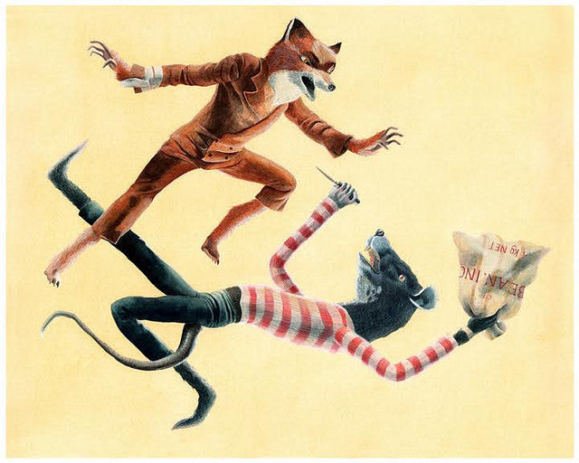 "Maryanna Hoggatt - ""Fox vs. Rat"""