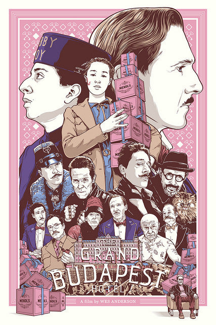 "Joshua Budich - ""The Grand Budapest Hotel"""