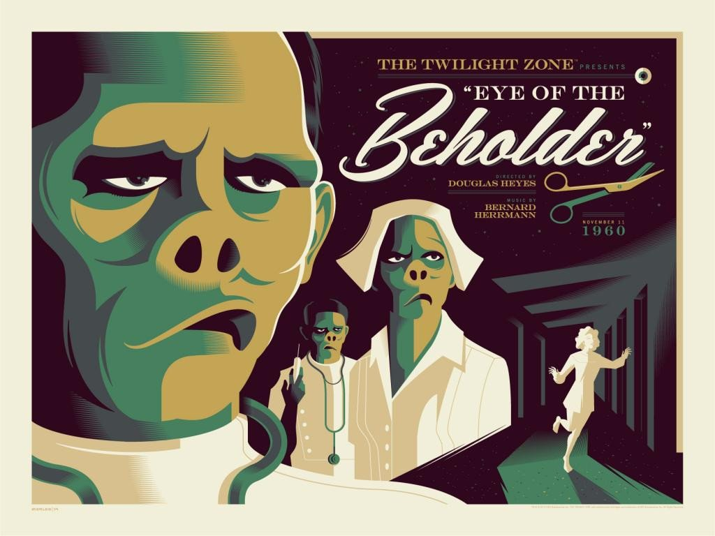 "Tom Whalen - ""Eye of the Beholder"" - The Twilight Zone - Spoke Art"
