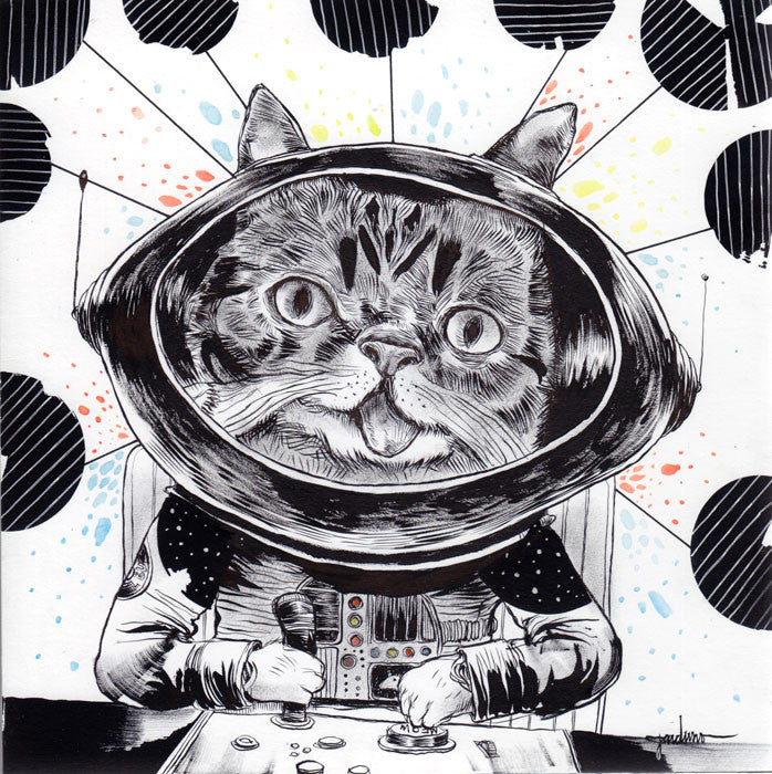 "Ken Garduno - ""Lil Space Bub"" - Spoke Art"