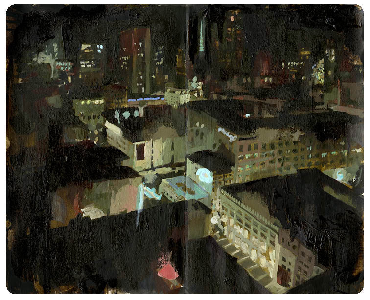"Christian MacNevin - ""View From the Marriott 001"""