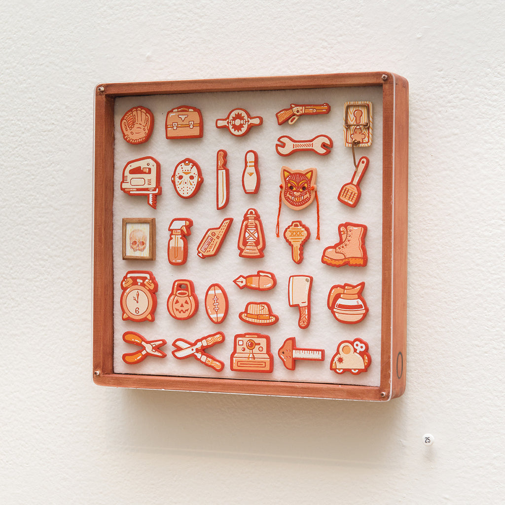 """Tiny Objects"" (Orange)"